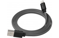 Микрофоны Laut Lightning to USB Charge & Sync Cable Link 1.2m Black (LAUT_LK_LTN1.2_BK)