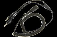 Кабель PC cord - QD to 2x3.5mm 2m (витой)