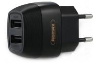 Кабели и зарядные уст-ва СЗУ Remax 2USB 2.1A Black (RP-U29)