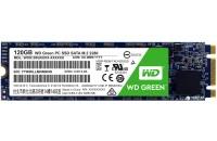 Жесткие диски, SSD WD SSD 120GB Green M.2 SATA3 TLC (WDS120G2G0B)