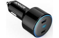 Кабели и зарядные уст-ва Anker PowerDrive+ III Duo 30W PD + 18W USB-C Black (A2725H11)