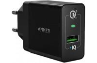 Кабели и зарядные уст-ва Anker Wall Charger PowerPort+ 1 with QC 3.0 & PowerIQ Black (A2013L11)