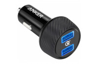Мобильные телефоны Anker PowerDrive 2 Quick Charge 3.0 Ports V3 Black (A2228H11)
