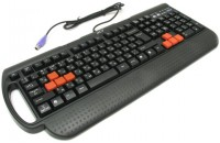 Клавиатуры A4Tech G700 PS/2 Black