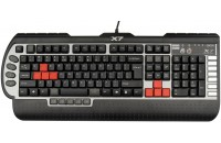 Клавиатуры A4Tech G800V USB Black