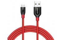 Гарнитуры Anker Powerline+ Micro USB - 0.9 m V3 Red (A8142H91)