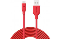Акустика Anker Powerline Micro USB - 1.8 m V3 Red (A8133H91)