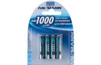Аккумуляторы Ansmann AAA4 1000 mAh (4шт)