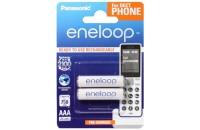 Аккумуляторы Panasonic Eneloop AAA 750 2BP mAh NI-MH Dect Series (BK-4MCCE/2DE)