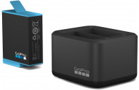 Аксессуары для экшн-камер Зарядное устройство GoPro Dual Battery Charger + Battery HERO9 (ADDBD-001-EU)