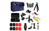Экшн-камеры AirOn ProCam 8 Blue Set 30 in 1 (69477915500062)