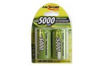Аккумуляторы Ansmann D 5000mAh NiMh 2шт (5030922)