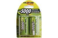 Аккумуляторы Ansmann D 5000 mAh (2шт.)