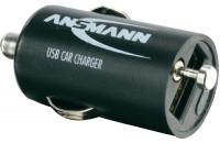 Кабели, зарядные уст-ва, аккумуляторы Ansmann USB Carcharger 1A + Micro USB cable