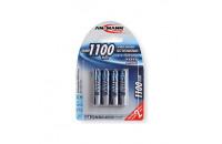 Аккумуляторы Ansmann AAA4 1100 mAh (4шт)