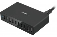 Anker Wall Charger PowerPort 10 60W V3 Black (A2133L11)