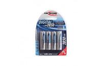 Аккумуляторы Ansmann AA 2850mAh NiMh 4шт Digital (5035092)