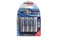 Аккумуляторы Ansmann AA 4 X 2850 mAh Digital