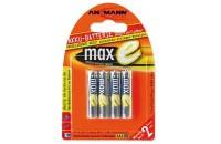 Аккумуляторы Ansmann AAA4 800 mAh (4шт) maxE