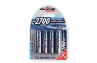 Аккумуляторы Ansmann AA 4 X 2700 mAh
