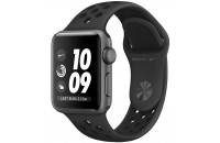 Смарт-часы Apple Watch Series 3 Nike+ GPS 38mm Space Gray Aluminum case with Anthracite/Black Sport B. (MQKY2)