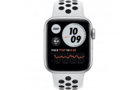 Apple Watch Series SE Nike GPS 40mm Silver Aluminum Case with Pure Platinum/Black Nike Sport (MYYD2)