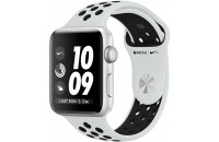 Смарт-часы Apple Watch Series 3 Nike+ GPS 42mm Silver Aluminum Case with Pure Platinum/Black Sport B. (MQL32)