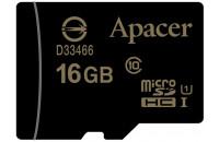 Карты памяти и кардридеры Apacer microSDHC 16Gb UHS-I Class10 (AP16GMCSH10U1-RA)