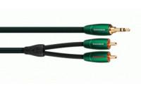 Hi-Fi кабели AUDIOQUEST 2.0m 3.5mm-RCA Evergreen