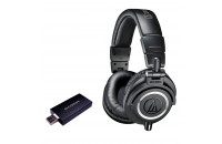 Наушники Audio-Technica ATH-M50x + Encore mDSD