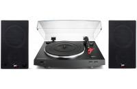 Акустика Audio-Technica AT-LP3BK + PSB Alpha AM3
