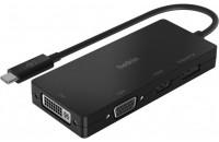 Belkin USB-C to HDMI, VGA, DVI, DisplayPort Black (AVC003BTBK)