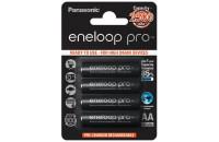 Аккумуляторы Panasonic Eneloop Pro AA 2500 mAh 4BP Ni-MH (BK-3HCDE/4BE)