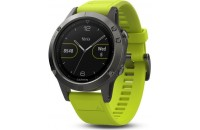 Смарт-часы Garmin Fenix 5 Slate Grey with amp Yellow Band (010-01688-02)