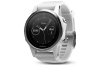 Смарт-часы Garmin Fenix 5S Silver with Carrara White Band (010-01685-00)