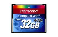 Карты памяти и кардридеры Transcend 32Gb CF (400x)