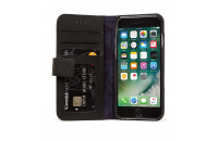 Аксессуары для мобильных телефонов DECODED iPhone 7/6S/6 Leather Wallet Case with magnet closure Black (D6IPO7WC3BK)