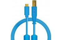 Кабели аудио-видео DJ Techtools Chroma Cables: USB-C Blue (Type-C to USB-B)
