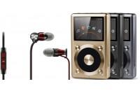 МР3 плееры FiiO X3 II + Sennheiser Momentum In-Ear