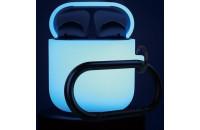 Аксессуары для наушников Elago Silicone Case Nightglow for Airpods Blue (EAPSC-LUBL)