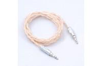 Кабели аудио-видео Era Cable AUX Premium Hybrid 1,3 м (3,5 - 3,5 mm miniJack)
