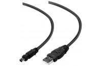 Кабели, зарядные уст-ва, аккумуляторы Belkin USB 2.0 (AM/miniB 5pin) 1.8м Pro Series Power/ Data (F3U155cp1.8M)
