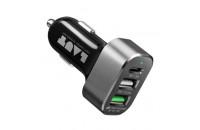 Кабели, зарядные уст-ва, аккумуляторы Laut USB Car Charger Power Dash (LAUT_PD05_BK)