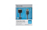 Кабели, зарядные уст-ва, аккумуляторы Belkin iPod/iPhone Sync/Charge Black (F8Z328EA04-BLK)