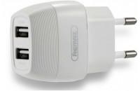 Кабели и зарядные уст-ва СЗУ Remax 2USB 2.1A White (RP-U29)
