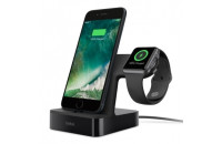 Кабели и зарядные уст-ва Belkin Valet Charge Dock For Apple Watch & iPhone (F8J200vfBLK)
