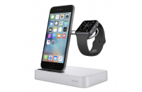 Кабели, зарядные уст-ва, аккумуляторы Belkin Dock Charge iWatch + iPhone (F8J183vfSLV)