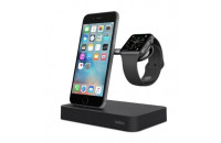 Кабели, зарядные уст-ва, аккумуляторы Belkin Dock Charge iWatch + iPhone (F8J183vfBLK)