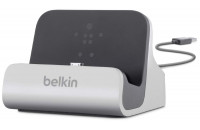 Кабели и зарядные уст-ва Belkin Dock Charge+Sync with LIGHTNING cable  (F8J045bt)