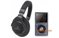 Купить - FiiO X5 II + Audio-Technica ATH-MSR7